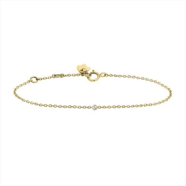 Feidt Paris - Bracelet serti clos - Les Eternels